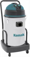 Профессиональный пылеводосос КЕМАК KV 693 M plastic (3 турбины, бак из пластика, без аксессуаров)