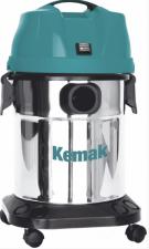 Профессиональный пылеводосос КЕМАК KV 19 Inox (бак из нержавеющей стали)
