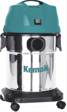 Профессиональный пылеводосос КЕМАК KV 29 Inox (бак из нержавеющей стали)