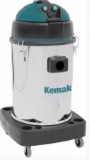 Профессиональный пылеводосос КЕМАК KV 492 Inox (2 турбины, бак из нержавеющей стали, без аксессуаров)