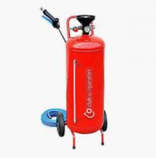 Пеногенератор Idrobase 50 л. Окрашенная сталь. Красный
