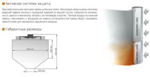 Водяная тепловая завеса Sonniger GUARD PRO 150W