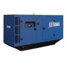 Стационарный дизельный генератор KOHLER-SDMO Montana J130K в шумозащитном кожухе