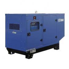 Стационарный дизельный генератор KOHLER-SDMO Montana J110K в шумозащитном кожухе