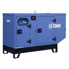 Стационарный дизельный генератор KOHLER-SDMO Adriatic K12 в шумозащитном кожухе