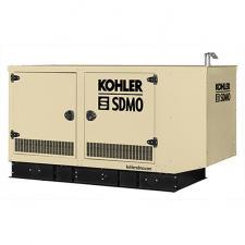 Стационарный газовый генератор KOHLER-SDMO Nevada GZ50 в шумозащитном кожухе