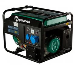 Бензиновый генератор  grandvolt GV 8500 M ES