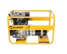 Бензиновый генератор grandvolt GVI 6600 M ES 25LA