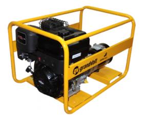 Бензиновый генератор grandvolt GVB 6000 MX 25L