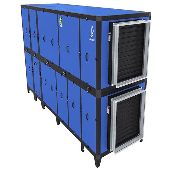 Приточно-вытяжная установка с рекуператором и тепловым насосом Airgy 16000 Eco Pro (без смесительного узла)