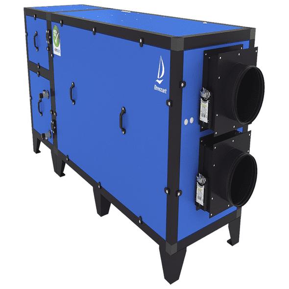 Приточно-вытяжная установка с рекуператором и тепловым насосом Airgy 1000 Eco RP