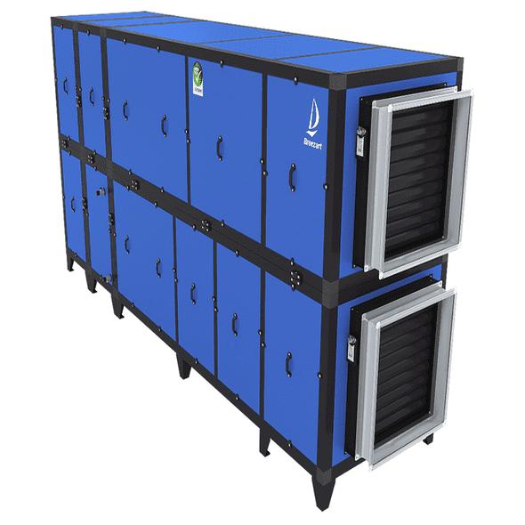 Приточно-вытяжная установка с рекуператором и тепловым насосом Airgy 16000 Eco RP (без смесительного узла)