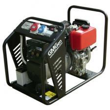 Дизельный сварочный генератор GMGen GMSD170LE