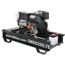 Дизельный сварочный генератор GMGen GMSD220LTE