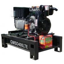Дизельный сварочный генератор GMGen GMSD400LTE