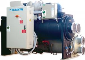 Чиллер Daikin DWDC с водяным охлаждением конденсатора
