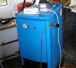 Твердотопливный котел длительного горения Buderus Logano S111-2 20 кВт