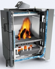 Твердотопливный пиролизный котел Buderus Logano S171-50 W, 50 кВт