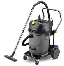 Пылесос для сухой и влажной уборки Karcher NT 65/2 Tact? Tc EU в сером цвете