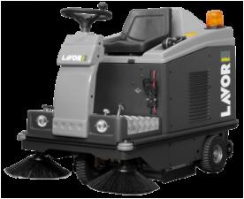 Подметальная машина LAVOR Pro SWL R1000 ET (с фронтальным освещением, с зарядным устройством STARK 24V и АКБ GEL SONNENSCHEIN  6V 180 Ah)