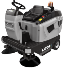 Подметальная машина LAVOR Pro SWL R1100 ET (с зарядным устройством STARK 24V и АКБ GEL SONNENSCHEIN  6V 180 Ah)