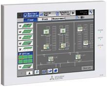 Многофункциональный центральный контроллер Mitsubishi Electric AE-200E