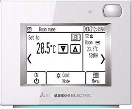 Пульт управления проводной Mitsubishi Electric PAR-U02MEDA-J